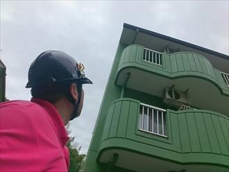 横浜市旭区のマンションでアスファルトシングル屋根のカバー工事