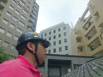 横浜市中区で雨漏りの原因は屋根下地の劣化です