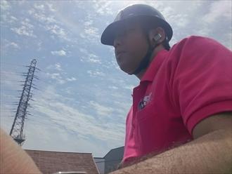 横浜市金沢区で瓦屋根の防水紙が原因で雨漏りしています