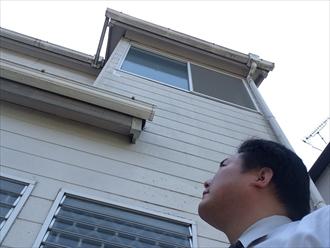 横浜市磯子区雨季にある漏らないと気づかない天井の染み