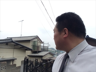 横浜市金沢区漆喰が剥がれると瓦の歪みに繋がります