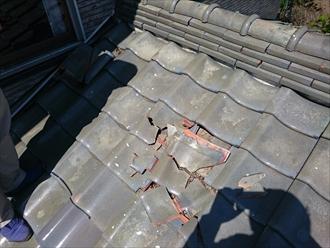 横浜市港南区瓦屋根のメンテナンス屋根葺き直し工事