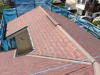 屋根カバー施工前