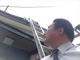 横浜市金沢区瓦屋根のメンテナンス棟瓦取り直し工事