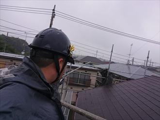 横浜市緑区で雨が降る前に葺き替え工事が完成しました