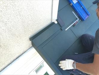 横浜市神奈川区屋根に使用している板金もメンテナンスが必要