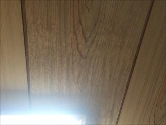 下屋からの雨漏り