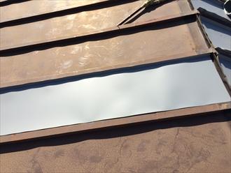 ガルバリウム鋼板ドブ加工