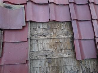 雨漏りの原因は瓦の下の防水紙にあります|横浜市青葉区