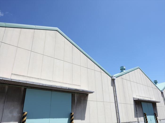 工場屋根の種類
