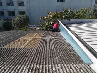 屋根雨漏り調査
