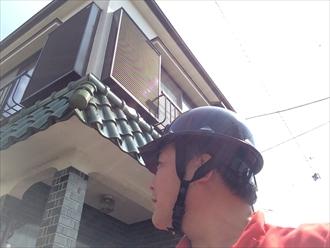 棟がある庇の瓦は漆喰詰め直しでメンテナンス|横浜市都筑区