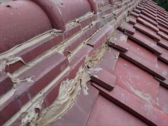 瓦は傷まなくても下地は傷むので葺き直しが必要です|横浜市保土ケ谷区