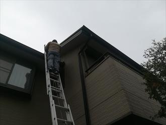 川崎市幸区|雨樋の歪みの修理依頼、保険の適応は可能?