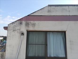 横浜市保土ヶ谷区|マンションの屋上防水と外壁塗装の調査依頼