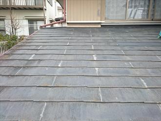 雨漏りの原因はスレートの割れではなく防水紙の劣化|横浜市旭区