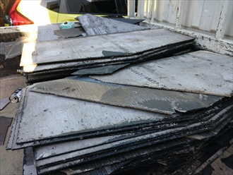 防水紙の劣化が原因の雨漏りは葺き替え工事が必要|横浜市金沢区