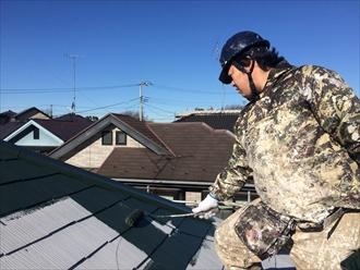 ファインパーフェクトベスト屋根塗装⑤