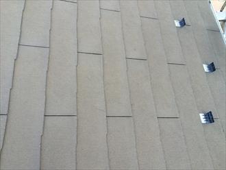 築7年のお宅の化粧スレートもひび割れが起こっていた|横浜市戸塚区