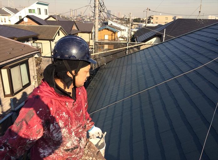 ファインパーフェクトベスト屋根塗装⑦