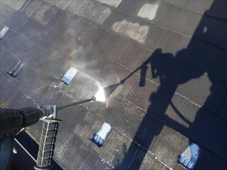 ファインパーフェクトベスト屋根塗装①