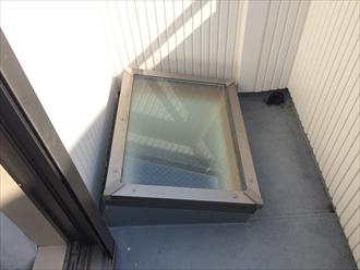 築14年で初めて発生した雨漏りの原因を特定します|横浜市磯子区