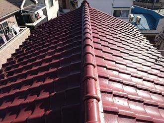 耐久性の高い瓦屋根ですが瓦自体も劣化していきます|横浜市保土ヶ谷区