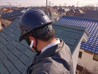 築25年のスレート屋根はカバー工事でメンテナンス|横浜市神奈川区