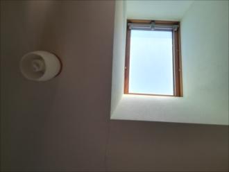 室内からの天窓の様子