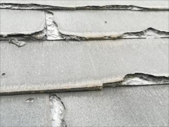 屋根材(ボロボロの状況)