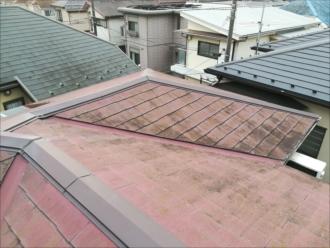 屋根全体の劣化状況