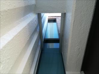 横浜市神奈川区|玄関サイドの空間に庇を設置しました