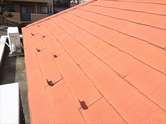 塗装された屋根もチョーキングが発生します|横浜市緑区