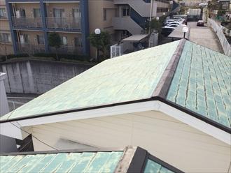 アパート屋根調査①