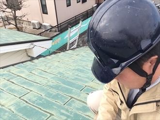 アパート屋根調査②