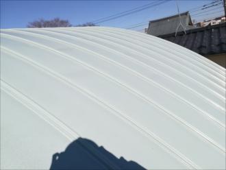 筒形の屋根