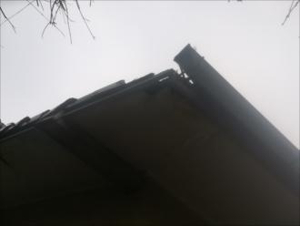 横浜市磯子区|下地の腐食で瓦屋根の一部が崩壊