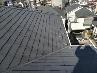 横浜市神奈川区|屋根材のひび割れ・補修方法、処置の仕方