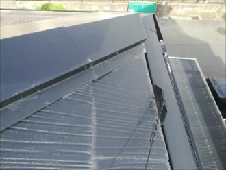 横浜市磯子区|アンテナワイヤーの引っ掛かり!?スレート屋根の浮きの調査
