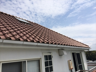 トップライト 屋根修理2