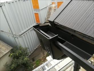 川崎市中原区|ダンラインエクセル・雨樋交換を行いました