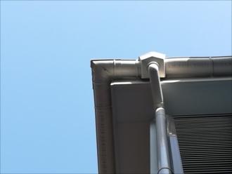 横浜市南区|雨樋コーナー部分からの水漏れ・点検、調査