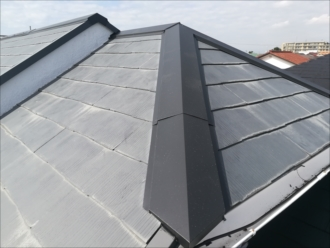 茅ヶ崎市|ガルバリウム鋼板で板金工事