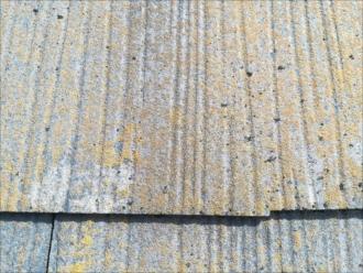 屋根材表面の劣化状況