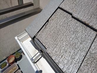 スレート屋根の割れは雨漏りに繋がります|横浜市港北区