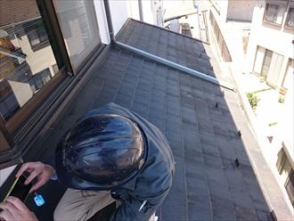 浮き上がった棟板金は飛散する前に交換します|横浜市旭区