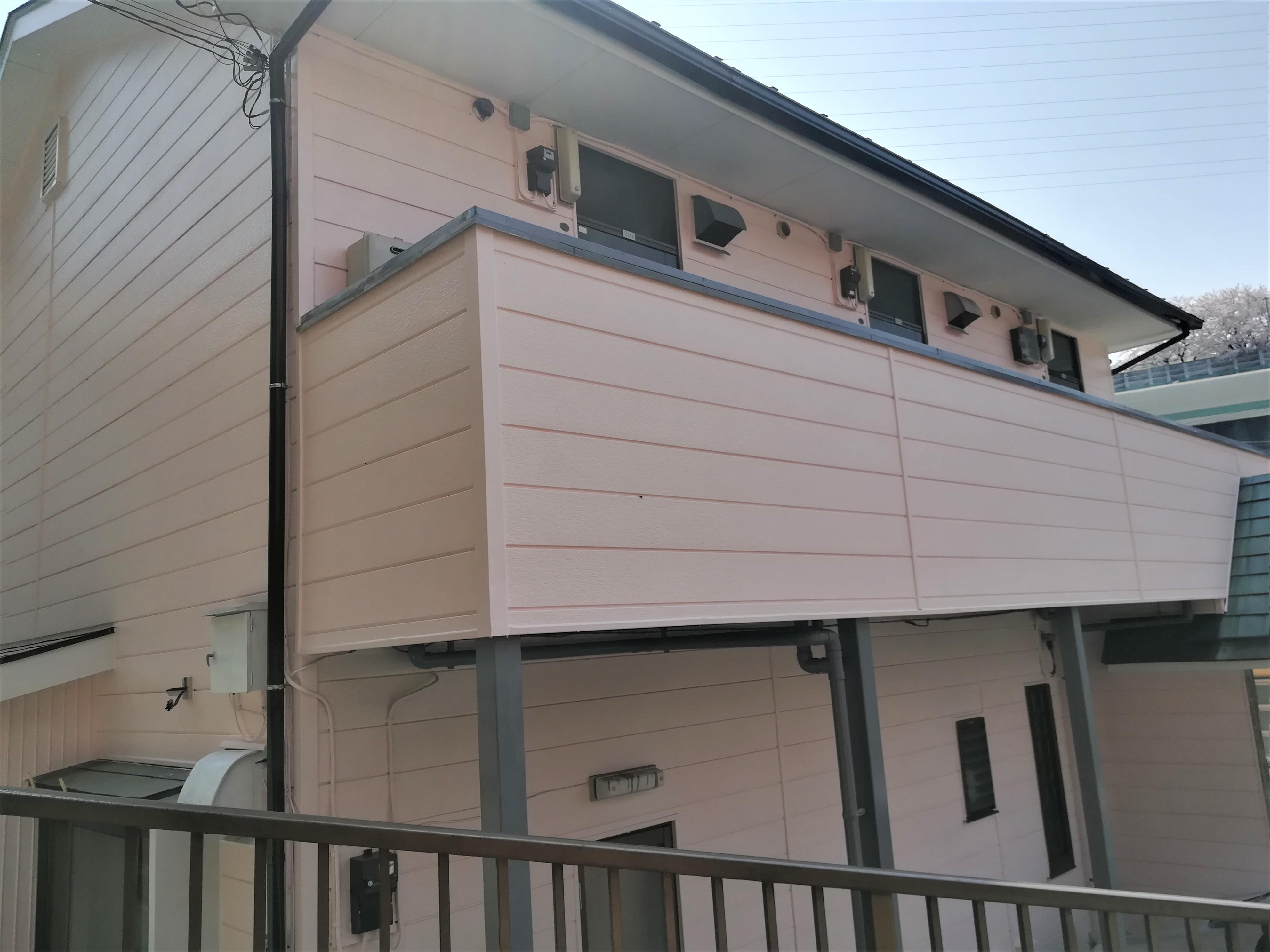 横浜市保土ヶ谷区|雨樋交換工事に落ち葉よけネット設置・併せて外壁塗装を行いました