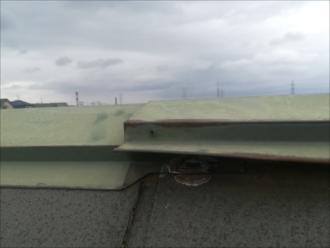 横浜市都筑区|風害による棟板金の浮き・板金工事調査依頼