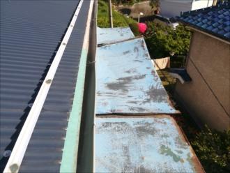 横浜市戸塚区|風害による破損・屋根修理の為の調査依頼