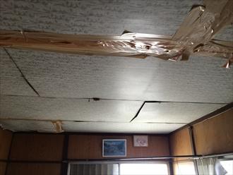 雨漏りをほおっておくと直す範囲も広がります|横浜市青葉区